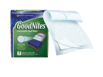 SALE: GoodNites Disposable Bed Mats Case/36 | Delivered in Toronto