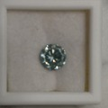 Buy Now: Beautiful brilliant blue mossanite diamond