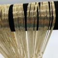 Buy Now: 50 Pcs Diamond Cut Herringbone Chains 14 kt Gold Plated - 24 inch