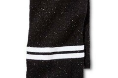 Compra Ahora: 12 Dickies Men's Cold Weather Scarf - Black/White Stripes New