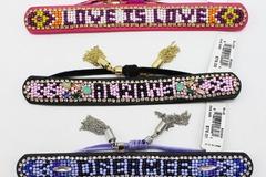 Buy Now: 5 New Rebecca Minkoff Leather Crystal Bracelets $390 Value.