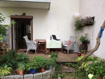 Tauschobjekt: Kauftausch 3 Zi. Gartenwohnung in München geg. 4 Zimmer Whg./Haus