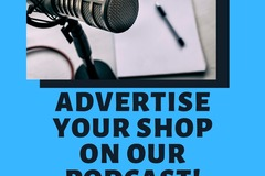 Offering online services: Shop Ad in our Podcast