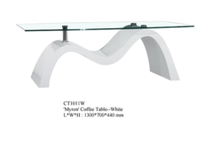 For Sale: MYRON Coffee Table Available in White and Black