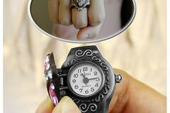 Buy Now: VIXEN WATCH IN ANTIQUE CRYSTAL RING  LOT