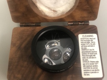 Selling with online payment: Ocular Instruments 3 mirror gonioscopy lens