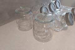 Ilmoitus: Karkkibuffet lasikipot, Ikea, 7kpl