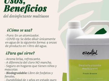 Venta: Desinfectante Multiusos Essential By Mabel Cartagena