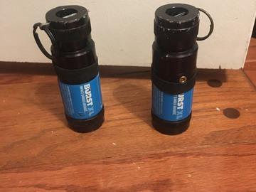 Selling: 2 XL burst Grenades