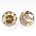 Buy Now: 2.5MM CHOCOLATE DIAMOND BRILLIANT CUT LOOSE LOT