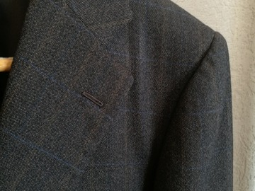 Online payment: L.BARBERA x Attolini Suit 39-40/49-50 Brown wool windowpane