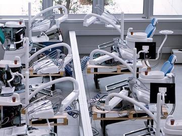 Nieuwe apparatuur: Vitali dental units bij Direct Dental Supplies