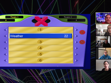 "Custom Package: Virtual Survey Says game based on ""Family Feud"" game show"