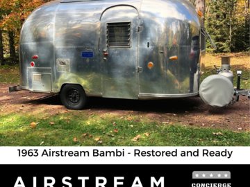 Trailer Sales: 1963 Airstream Bambi - The Coveted Classic Restored and Ready