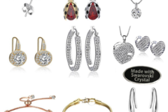 Buy Now: 50 Pieces Asst Swarovski Elements Jewelry - Wholesale