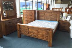 For Sale: WOODGATE Solid Wood Bed Frame* 3 Size