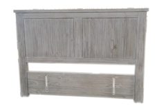 For Sale: AMANDA Solid Wood Queen/King Size Headboard
