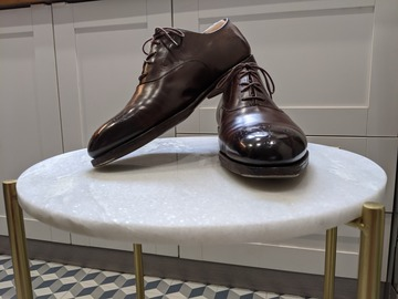 Online payment: Edward Green brown oxfords - 8.5Uk F82