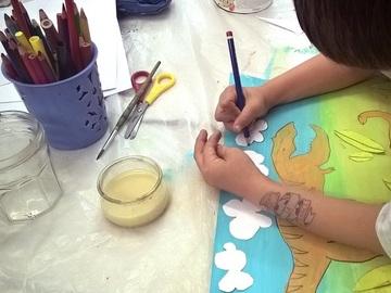 Offre: Stage de  Peinture-Dessin-Modelage Enfants/Ados