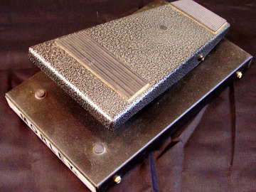 Selling with online payment: MORLEY Silver Volume XVO pedal