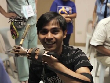 Custom Package: Build a Prosthetic Hand for Charity Virtual Team Building