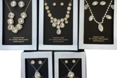 Buy Now: 20 sets Boxed  Austrian Crystal Necklaces & Earring Sets