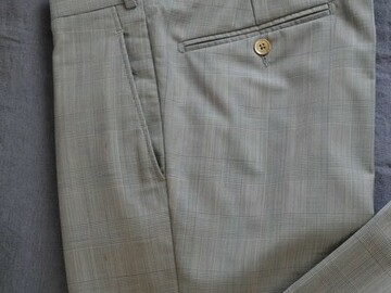 Online payment: Scabal Trousers MTO, Jason wool 150s