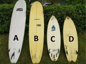 For Rent: 8 Foot Longboard