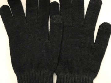 Buy Now: 20 Acrylic Touch Gloves Black One Size Fits Most Case Pack Unisex