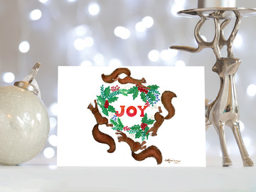 Selling with online payment: Happy Holidays Cards
