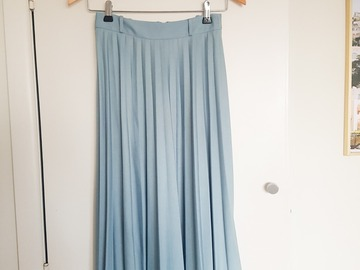 Selling: Blue Sunray Pleated Skirt