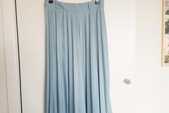 Selling: Blue Sunray Pleated Skirt