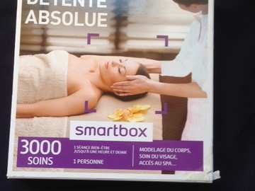 "Vente: Smartbox ""Détente Absolue"" (39,90€)"