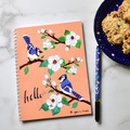 Selling with online payment: Composition Blue Jay Spiral Notebook
