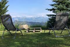 NOS JARDINS A LOUER: Jardin panoramique alpin