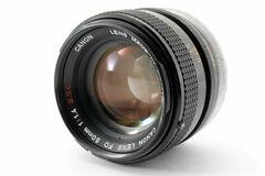 Vermieten: Canon FD 50mm f/1,4 SSC (inkl. FD-E Adapter)
