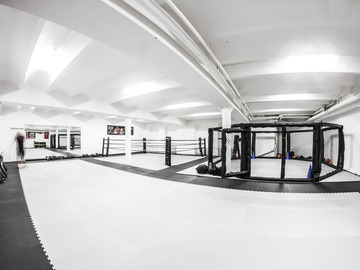 to rent your gym per h: Gym Vermietung /Mattenfläche/Box Ring/MMA Octagon u. Fitness Bere