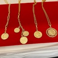 Buy Now: 10 pcs-- Vintage Coin Necklaces-- assorted styles-- $5.00 each