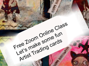 "Workshop Angebot (Termine): Free Zoom Online Class ""Halloween"