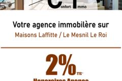 Actualité: ConfortImmo agence immobilière  , commission à 2%