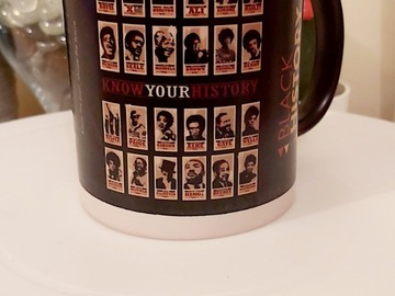For Sale: Personalised  black history mugs
