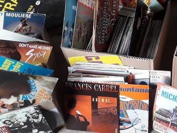 Vente: Déstockage environs 1000 vinyles 45t