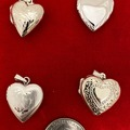 Buy Now: 8 pcs-- Genuine Sterling Silver Lockets-20mm size $8.00 each