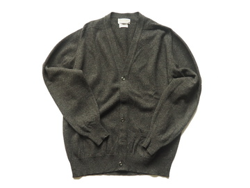 Online payment: Cardigan lambswool grey William Lockie