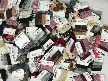 Compra Ahora: 50 Scunci Brand Hair Accessories pony tailers scrunchies assort