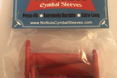 Selling with online payment: NO NUTS® CYMBAL SLEEVES  3-PK RED