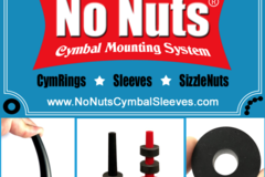 Selling with online payment: NO NUTS® CYMRINGS - 6-PK