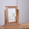 For Sale: SOUTHLAND Solid OAK Desk Top Mirror