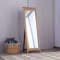 For Sale: SOUTHLAND Solid OAK Free Standing Cheval Mirror0