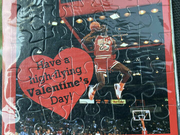 Buy Now: CLEO Michael Jordan Valentines Day Greeting Card Puzzle
